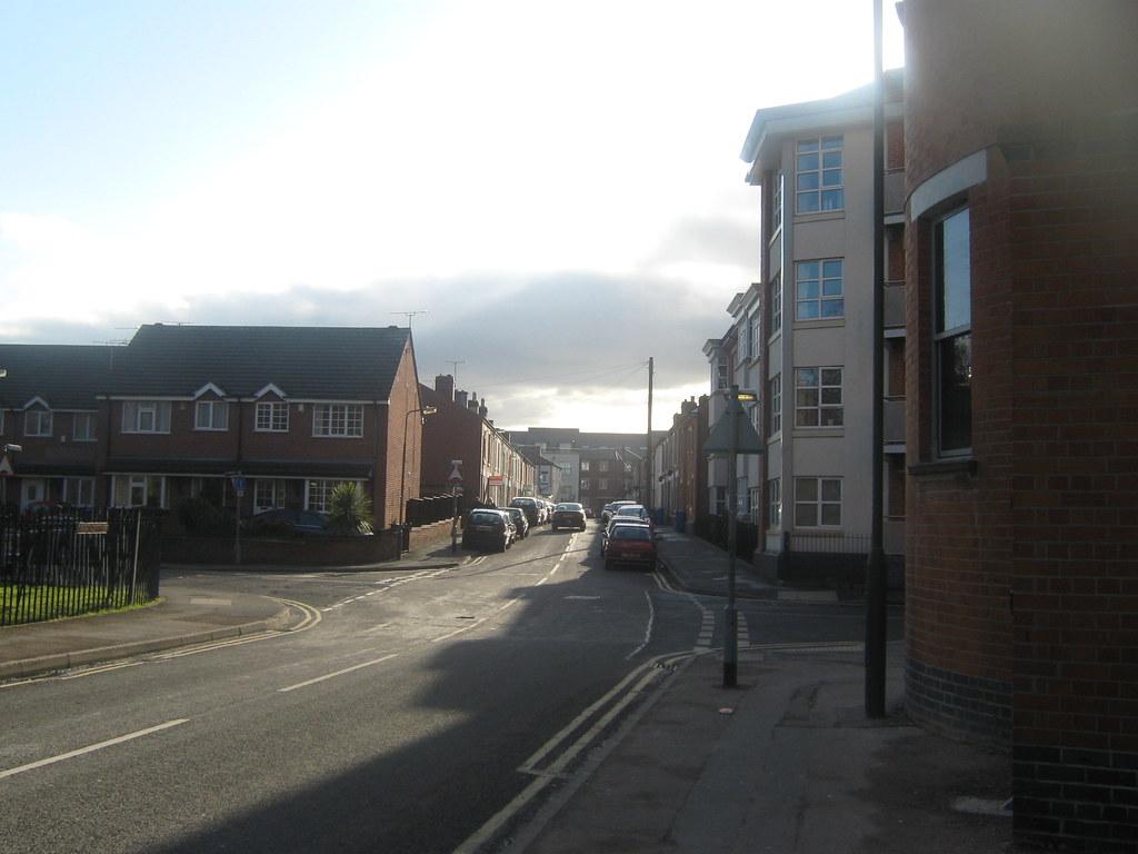 Merchant Street, Mackworth Road and Markeaton Street, Derby