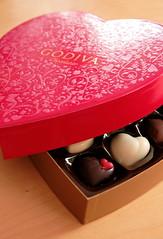 Boite de chocolats (Saint valentin)