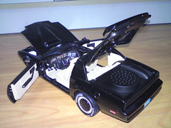 Knight Rider 1/18 KITT (imranbecks) Tags: justin david mike scale car for michael am 1982 model 2000 flag foundation firebird knight government law pontiac trans hasselhoff rider goodyear industries aoshima 118 kitt diecast ertl traceur rc2 bruening