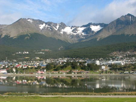 Andes Mountains in Ushuaia, Argentina