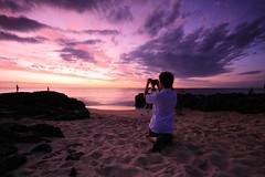 The Photographer (Jorben Photography) Tags: ocean sunset sky water clouds canon reflections point evening rocks rocky wa bunbury christof cokin nd8 g10 40d
