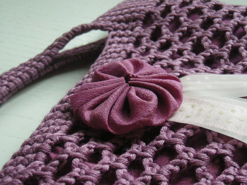 sac filet au crochet #1