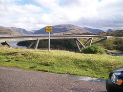 Kylesku Bridge (Niseag) Tags: sutherland kylesku curvedbridge