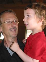 Grandpa R and Gavin