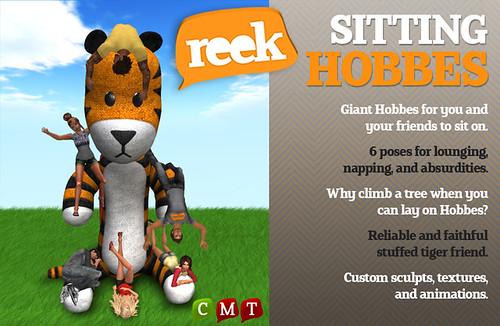 Reek - Sitting Hobbes Ad