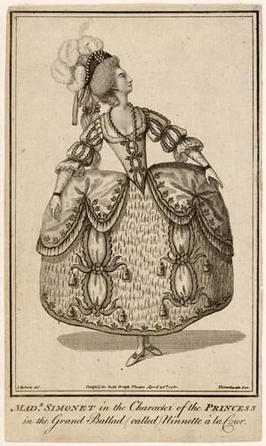 013- Madame Simonet en Ninette en la Corte 1781