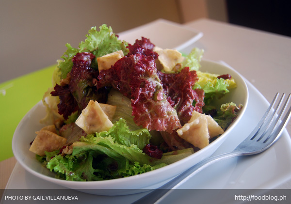Fruity Wonton Salad