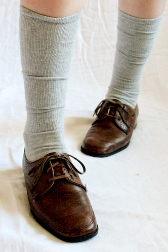 VINTAGE 80s brown leather brogues lace-ups oxfords 8.5 - 8