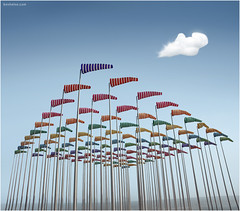 The Wind is Blowing (Ben Heine) Tags: ocean light summer wallpaper sky cloud mer nature composition painting season print poster vent freedom vacances fly holidays heaven alone glow colours image wind nikond70 pastel horizon machine free fluffy ciel human libert zomer harmony soul precision colourful souffle breathe capture freetime t copyrights distance dynamism seacoast meteo dehaan pilier waterscape faraway kleuren luminosity vlaanderen voler wiatr digitalshot petersquinn benheine theunforgettablepictures hubertlebizay hubzay flickrunitedaward dancerofthesky infotheartisterycom