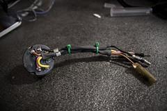 Headlight Switch (Honda CB77 Restoration) Tags: vintage honda switch wiring motorcycle restoration 1962 superhawk caferacer solder ignition 305 cb77