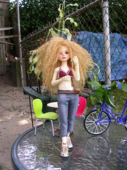Surinder (twomuchfat) Tags: she boy love home face up thanks by out is outfit shoes doll ebay day yeah great barbie first mini off best her cant planet wait michele much 16 comes michel ever job until own riz hardy surinder i bjdtiny miniriz planetdollmini