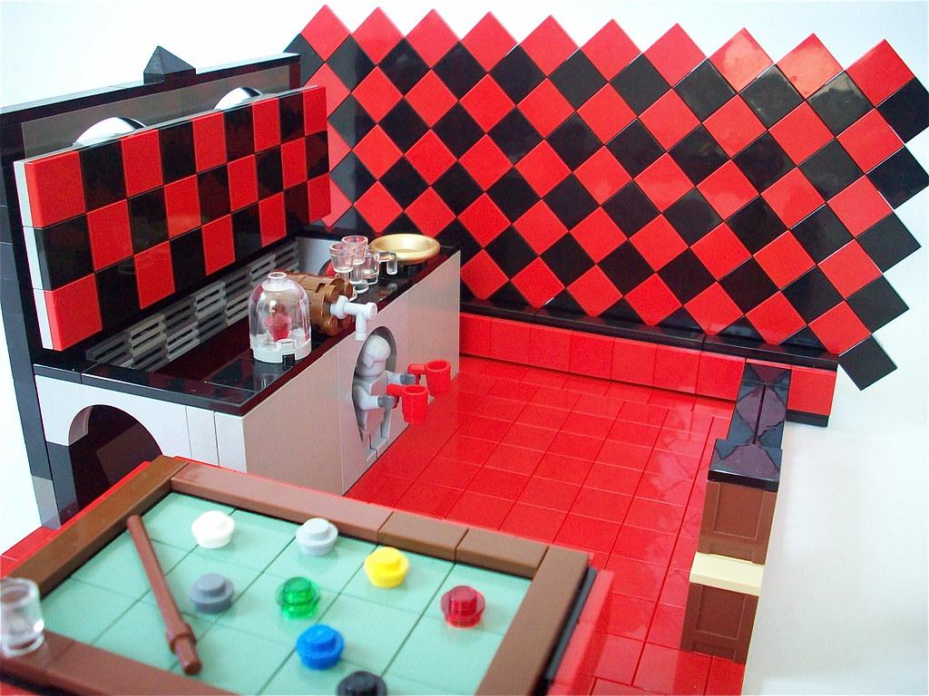 The Red Billiard Room