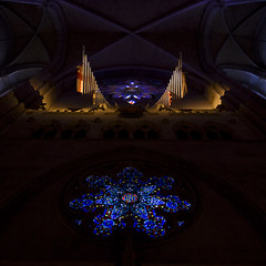 Cathedral of Saint John the Divine - New York (anadelmann) Tags: nyc newyorkcity light usa ny newyork france colour church window rose cathedral manhattan interior sony gothic f100 uptown organ nave alpha 900 revival gothicrevival morningsideheights episcopaldiocese rosewindow v1000 a900 cathedralofsaintjohnthedivine stjohntheunfinished sonyalpha900 highgothicstyle byzantineromanesque anadelmann episcaopal thewhiteelephantoftheupperwestside ralphadams