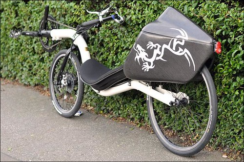 Raptobike with Tailbox