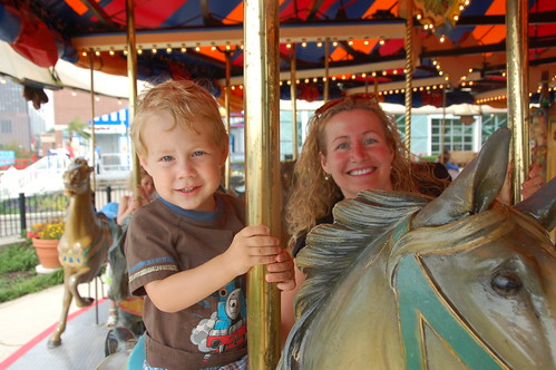 carousel on Navy Pier