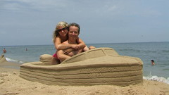 Out for a Cruise (pangdad_62) Tags: summer vacation sculpture art beach sand sandcastle sculptures sandsculpture sandart sculpting sandsculpting