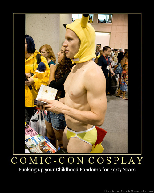 Motivational Poster: Comic-Con Cosplay