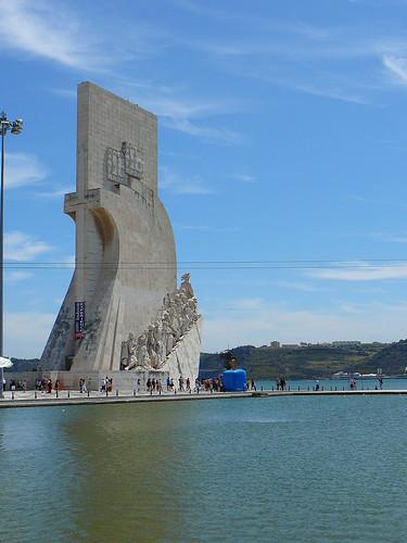 El Monumento a los Descubrimientos.
