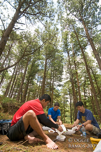 Nueva Vizcaya Salacsac Dining under the Pines