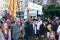 Clan MacLaren in The Clan Parade - The Gathering 09
