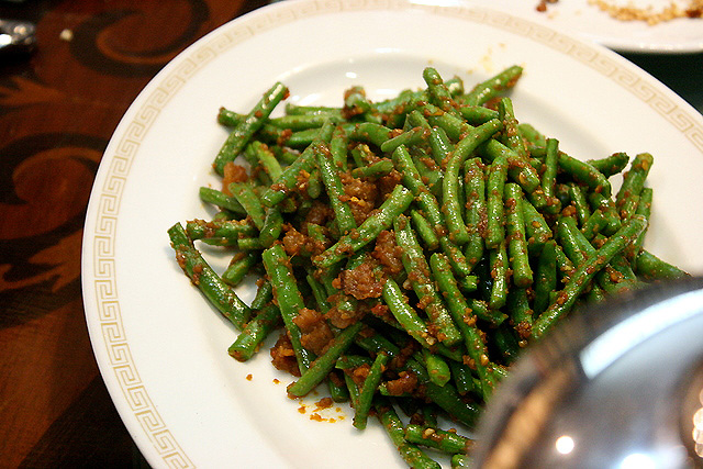Four season beans in sambal