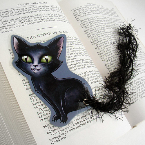 bad cat bookmark