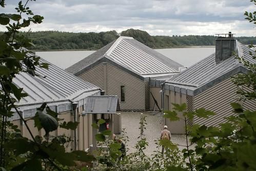 Außenansicht Wikinger Museum Haithabu vor dem Museumsumbau - WMH 13-09-2009