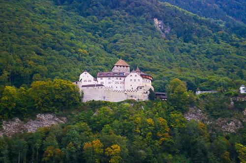 Замок Вадуц - резиденция князя