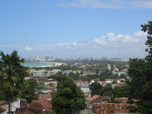 View of Recife from Olinda