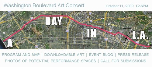 Washington Blvd Art Concert