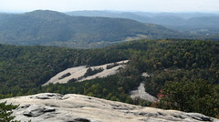 Cedar Rock in the distance (Joynes, North Carolina, United States) Photo