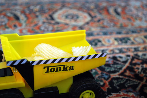 Tonka Truck with Chips-1
