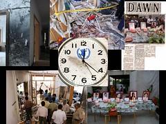 12:21:25 october 05, 2009 (tango 48) Tags: pakistan clock time destruction suicide unitednations damage blast bombing devastation islamabad worldfoodprogram unwfp
