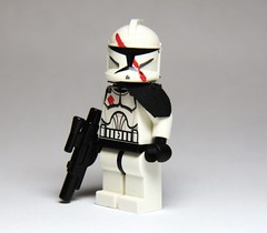 Lieutinate Hacks (Commander Hess) Tags: red trooper clone clonewars clonetrooper ltn lutinate