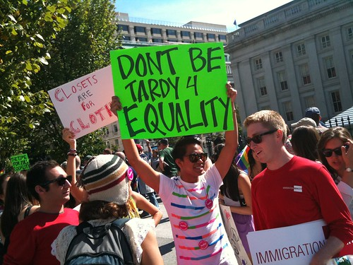 LGBT:  National Equality March