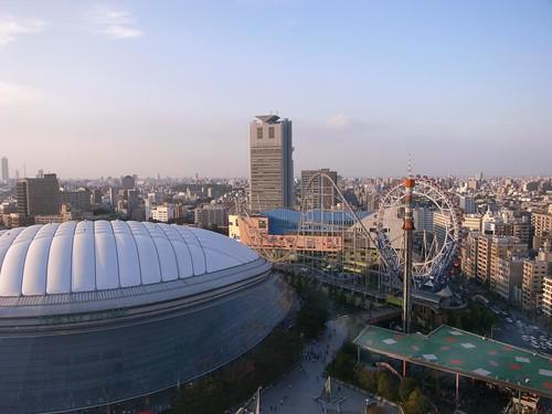 東京ドームの昼