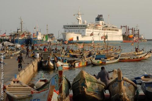 Africa Mercy in Benin