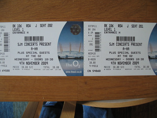 a-ha tickets