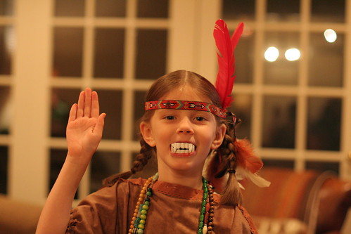 fanged indian princess (by Ateupamateur)