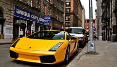 Superleggera (CarSpotter) Tags: nyc ny newyork yellow italian nikon sigma bull sl exotic giallo lamborghini supercar gallardo midas lamborghinigallardo superleggera 18200mm lambogallardo d5000 carspotter gallardosuperleggera lamborghinisuperleggera lamborghinigallardosuperleggera gallardosl lambosl