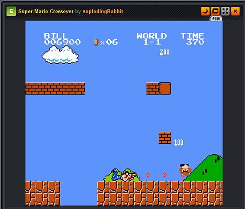 100430 - 《電腦玩物》Super Mario Crossover紅白機懷舊角色共闖超級瑪莉世界!