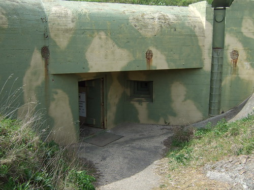 Fort Hommet bunker entrance