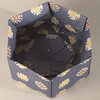 Base Of Decorative Hexagonal Origami Gift Box (with Lid Removed): # 12