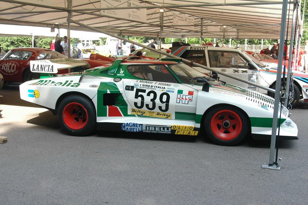 Lancia Stratos Turbo Group 5 Retro Rides