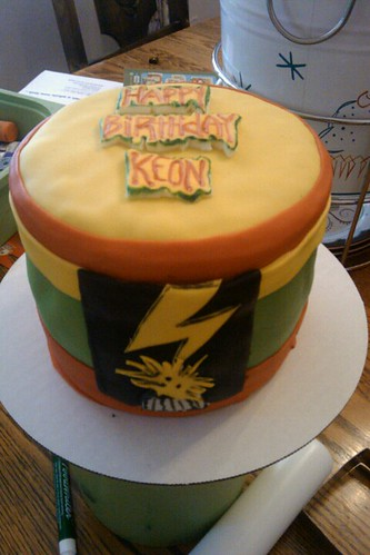 Bad brains cake by Little Sweeties Cupcakes