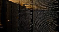 Gone, But Not Forgotten (Ray Horwath) Tags: sunset reflection illinois nikon nikkor memorialday chicagoland veteransmemorial nikkorlens vietnamveterans horwath newlenox vietnammovingwall d700 rayhorwath tomehartungamericanlegionpost1977 americanlegionpost1977 tomehartung nikkor20mmf28lens