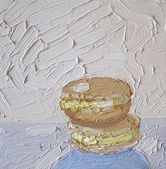 "Nicole Leigh Smith, Lemon Macarons, 6"" x 6"""
