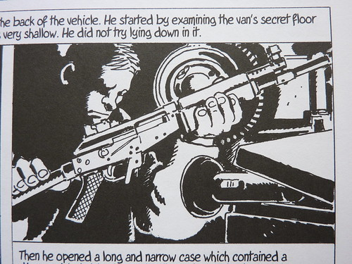 Like a Sniper Lining Up His Shot by Jacques Tardi & Jean-Patrick Manchette - detail