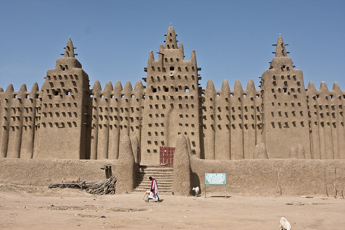 Mud Cathedral in Niafunke Mali