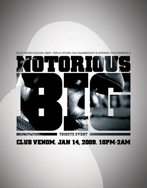 Notorious B.I.G. Tribute Event at Club Venom